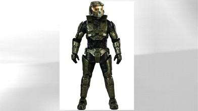 PHOTO: A Halo 3 costume for Halloween is being sold for $1,155.56 but can be found for $808.89 on Costumesupplies.com website.