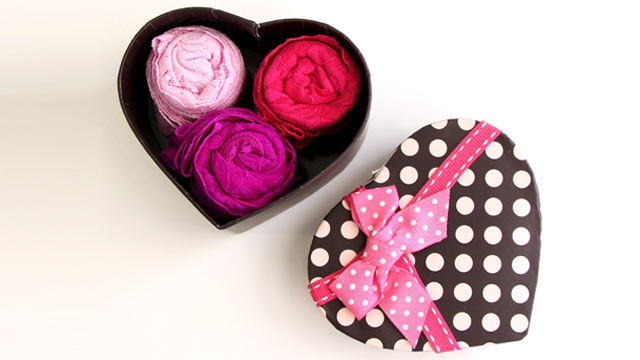 PHOTO: A Valentine's Day lingerie gift box by Hanky Panky, is shown.