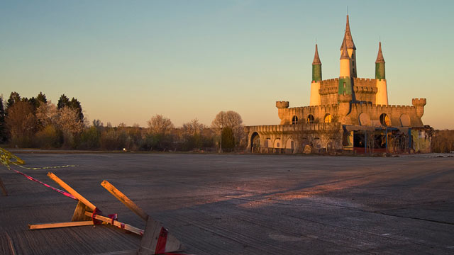PHOTO: King's Castle, part of Jim and Tammy Faye Bakker's Heritage USA theme park, March 18, 2013.