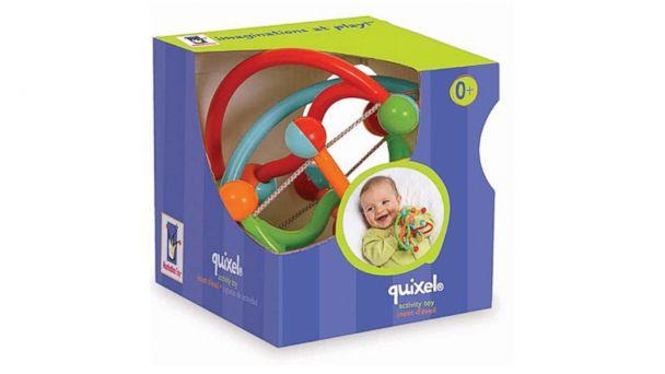 PHOTO: This Manhattan Toy Quixel Baby Rattle was recalled Dec. 4, 2013.