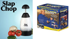 CONSUMER REPORTS? TESTS OF 15 POPULAR INFOMERCIAL PRODUCTS REVEAL MANY ARE NOT WORTH BUYING Snuggie, Slap Chop, and Shamwow among them