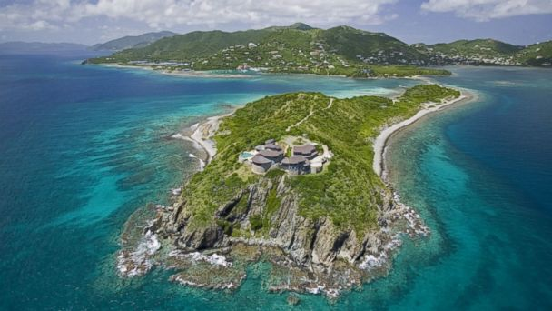 PHOTO: Buck Island in the British Virgin Islands is for sale for 30 million US dollars.