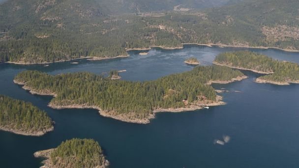 PHOTO: Sturt Island in British Columbia, Canada is for sale for 5.4 million dollars.