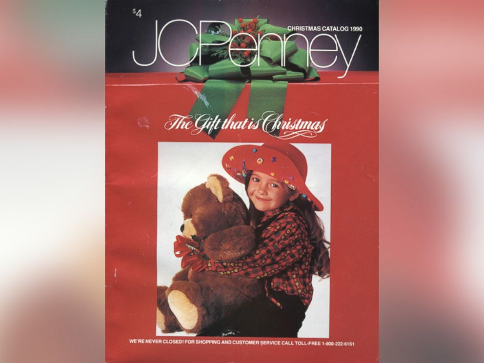 photo jcpenneys 1990 christmas catalog is pictured jcpenney jcpenneys 1990 christmas catalog