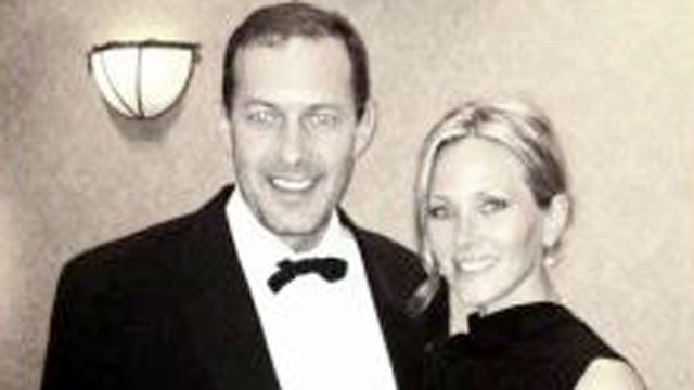 PHOTO:Craig Fischer and his former fiancée, Nichole L. Johnson are seen in this undated file photo.