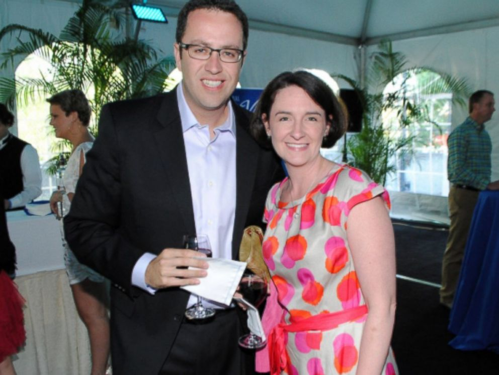 PHOTO:Jared Fogle and his wife, Katie, appear at an event in this undated file photo.