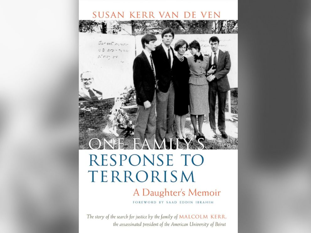 PHOTO: The cover of One Familys Response to Terrorism by Susan Kerr Van de Ven.
