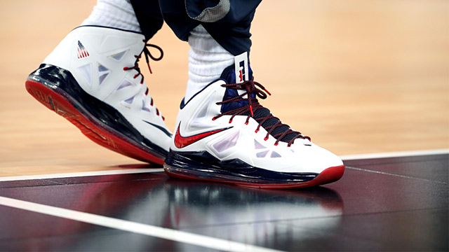 PHOTO: LeBron X sneakers