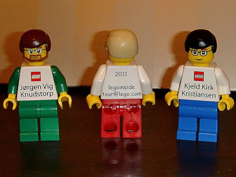 Lego Executives Get Really Cool Business Cards - ABC News