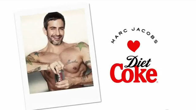 PHOTO: Designer Marc Jacobs is seen in an ad for Diet Coke; Jacobs signed on a creative collaborator for the brand in 2013.