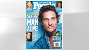 """PHOTO Matthew McConaugheys breakout role was in 1993s """"Dazed and Confused"""", but theres nothing confusing about the famously broad-chested Texas natives sex appeal."""