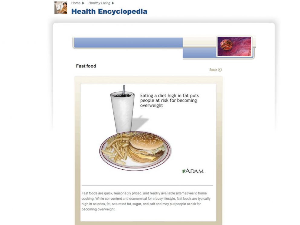 PHOTO: This screengrab from the McResource Line emphasizes healthy eating amongst McDonalds employees.