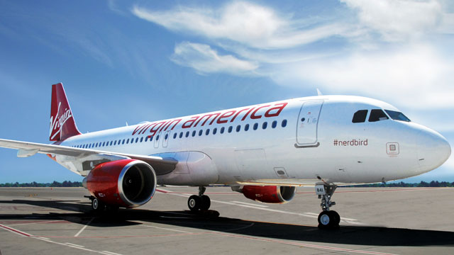 PHOTO: Virgin America