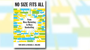 Photo: Book Cover: No Size Fits All: From Mass Marketing to Mass Handselling