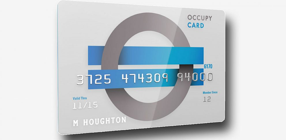 PHOTO: The Occupy Money Cooperative will provide people with access to low cost financial services with its first full featured pre-paid debit card.
