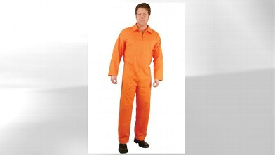 PHOTO: An orange State Prison jumpsuit costume is being sold for $999.99 on Amazon.com.
