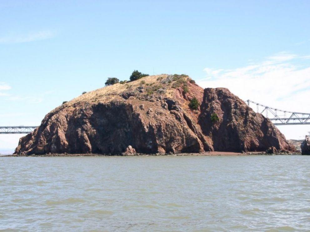 PHOTO: The Richmond Bridge is shown behind Red Rock Island.