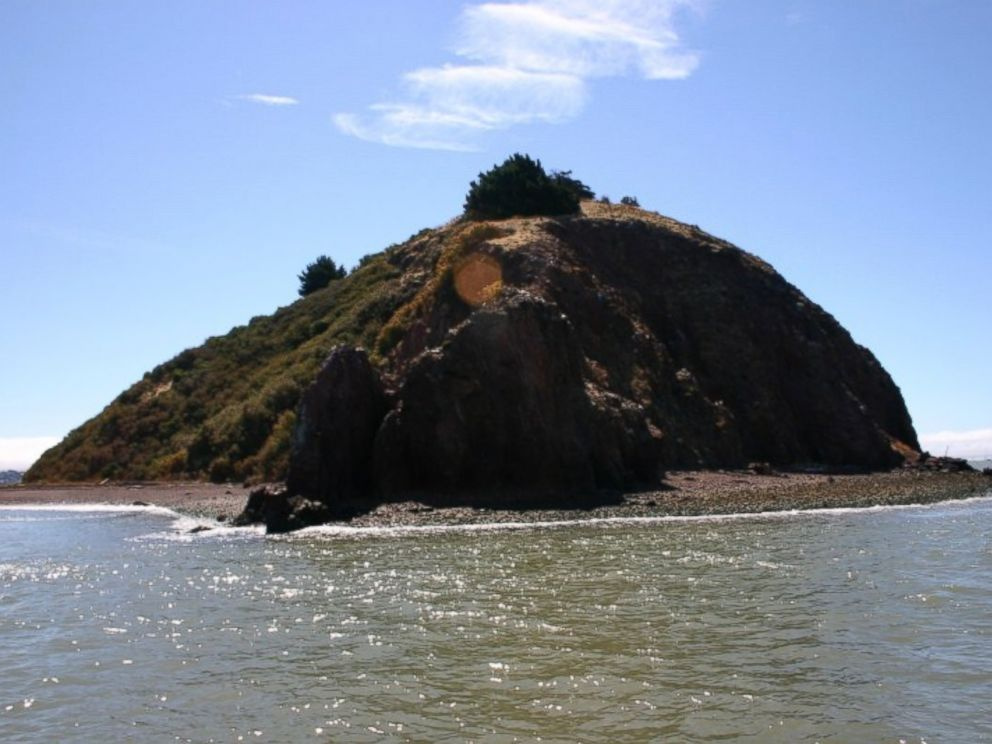 PHOTO: The shores of Red Rock Island are shown.