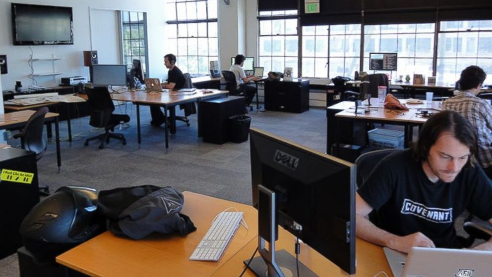 Reddit's 1,697-sq. ft. office in San Francisco is pictured in 2011.