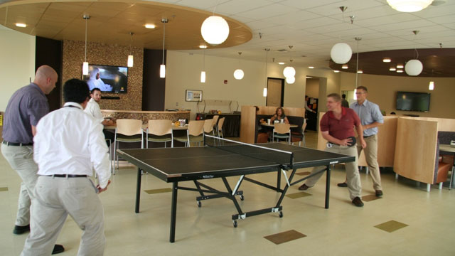 PHOTO: SCTU ping pong