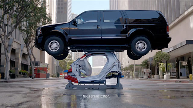 Smart Car Ad Wows And Underwhelms With Crushing Weight On Top