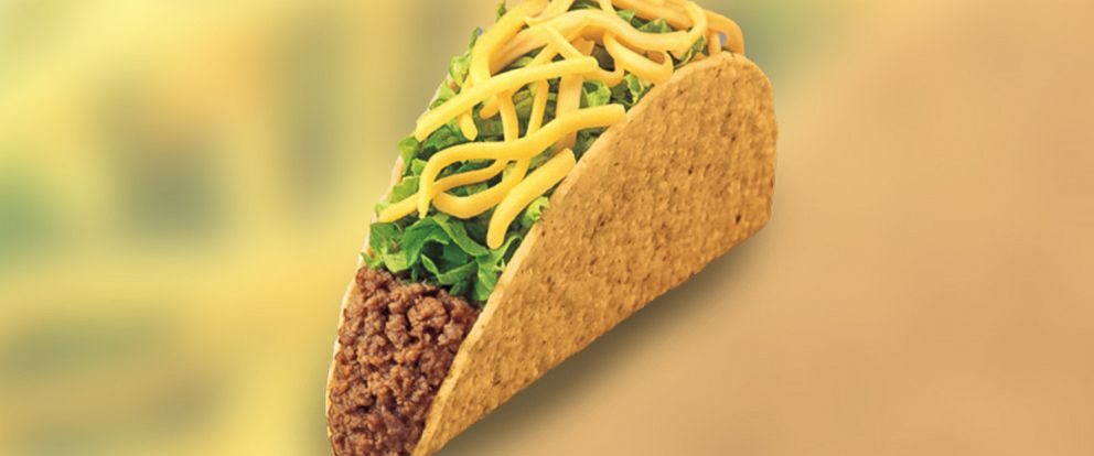 PHOTO: Taco Bells Crunchy Taco is pictured.