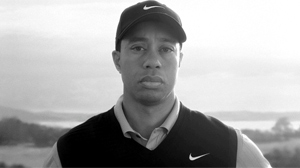 PHOTO New Nike ad shows Tiger Woods with his dads voice over-laid in the video.