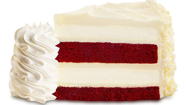 PHOTO: How many calories does The Cheesecake Factorys Ultimate Red Velvet Cake Cheesecake have? Try 1540 per slice.