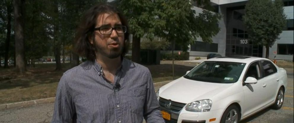 PHOTO: Ari Levin found out about the VW fraud on Friday when he heard the news on the radio.
