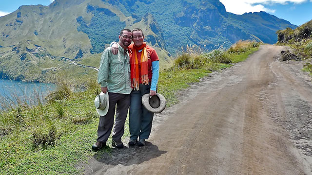 PHOTO: Warren and Betsy Talbot, who spent 25 months amassing enough cash to fund a 5-year trip around the world.