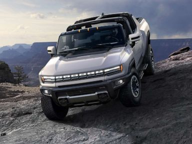 Hummer electric pickup truck unveiled