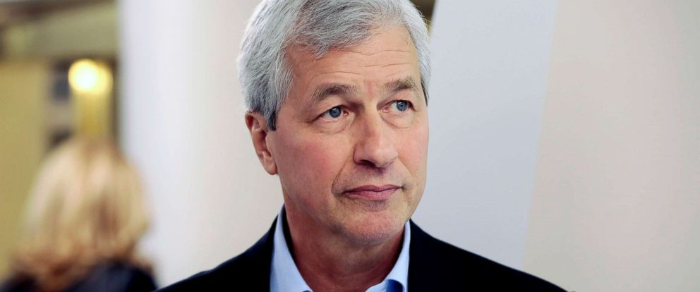 PHOTO: James Dimon, CEO of JPMorgan Chase & Co., during the World Economic Forum in Davos, Switzerland, in this Jan. 18, 2017 file photo.