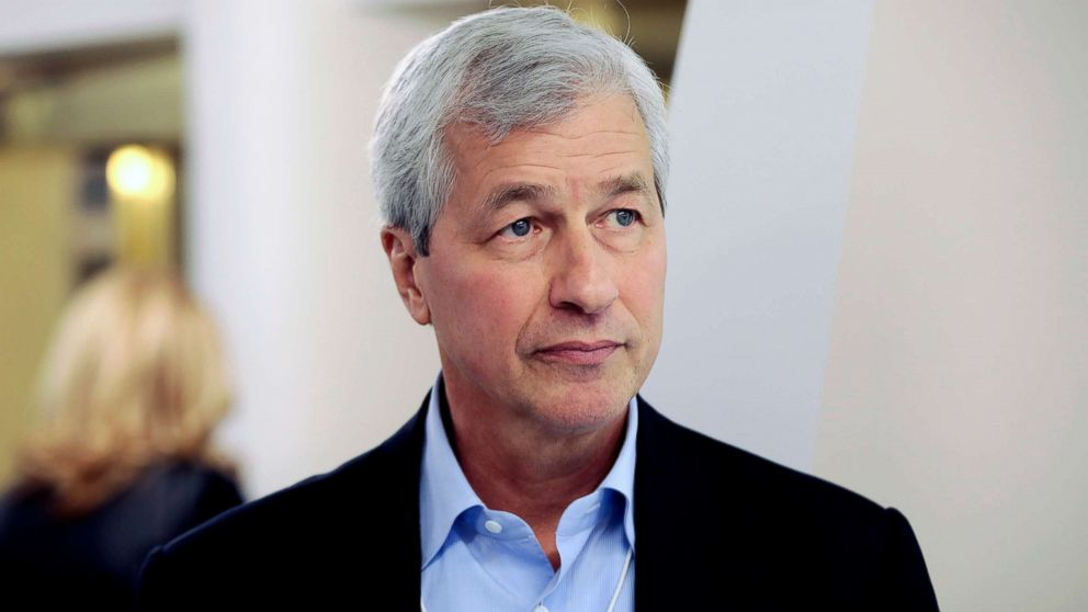James Dimon, CEO of JPMorgan Chase & Co.,  during the World Economic Forum in Davos, Switzerland, in this Jan. 18, 2017 file photo.