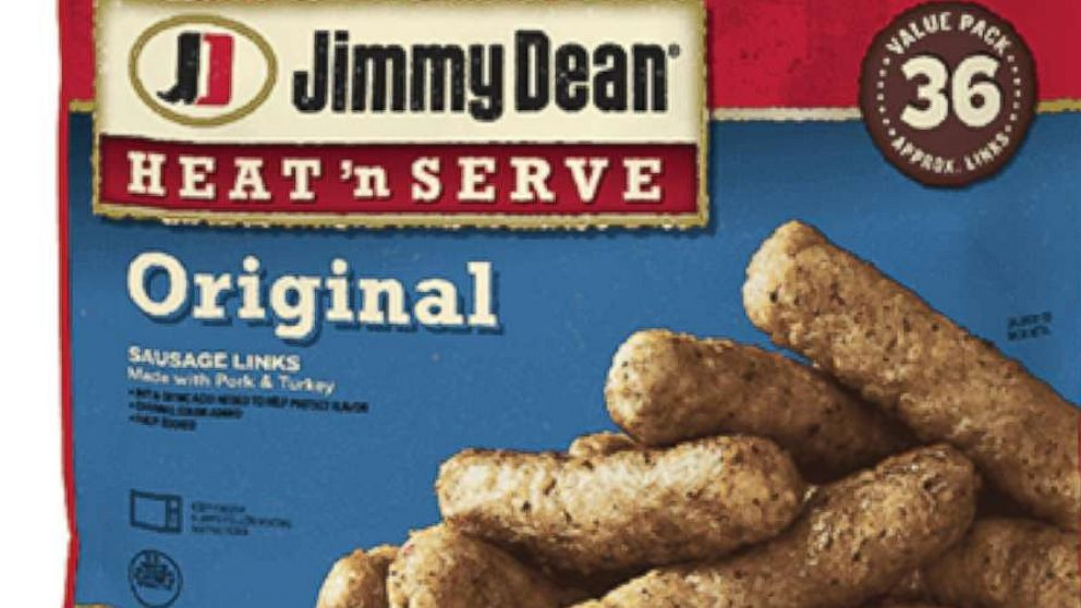 Jimmy Dean sausage-link products recalled due reports of