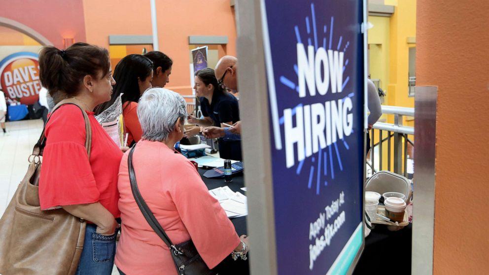 米国を追加し225,000雇用、失業率3.6%