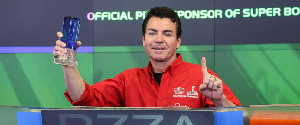 PHOTO: In this file photo, John H. Schnatter, Founder, Chairman & CEO of Papa Johns International, Inc. rings the NASDAQ Opening Bell at NASDAQ MarketSite, Jan. 31, 2014, in New York City.