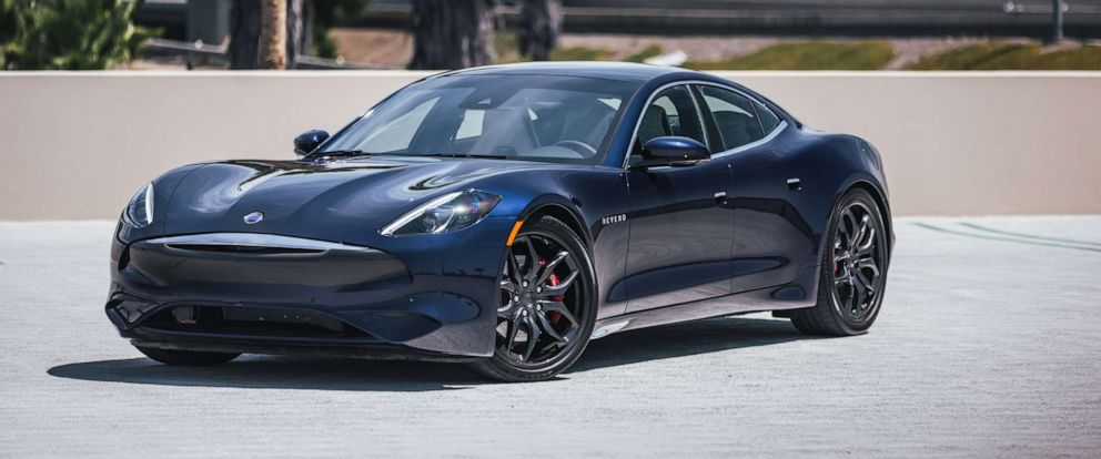 PHOTO: The 2020 Revero GT is an updated version of the 2017 Revero, which was the first car manufactured by the newly formed Karma Automotive.