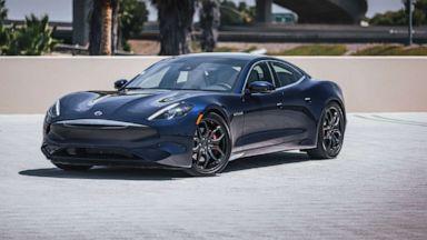 Karma Automotive Plots Comeback With New 536 Hp Sedan Electric Vehicles Abc News
