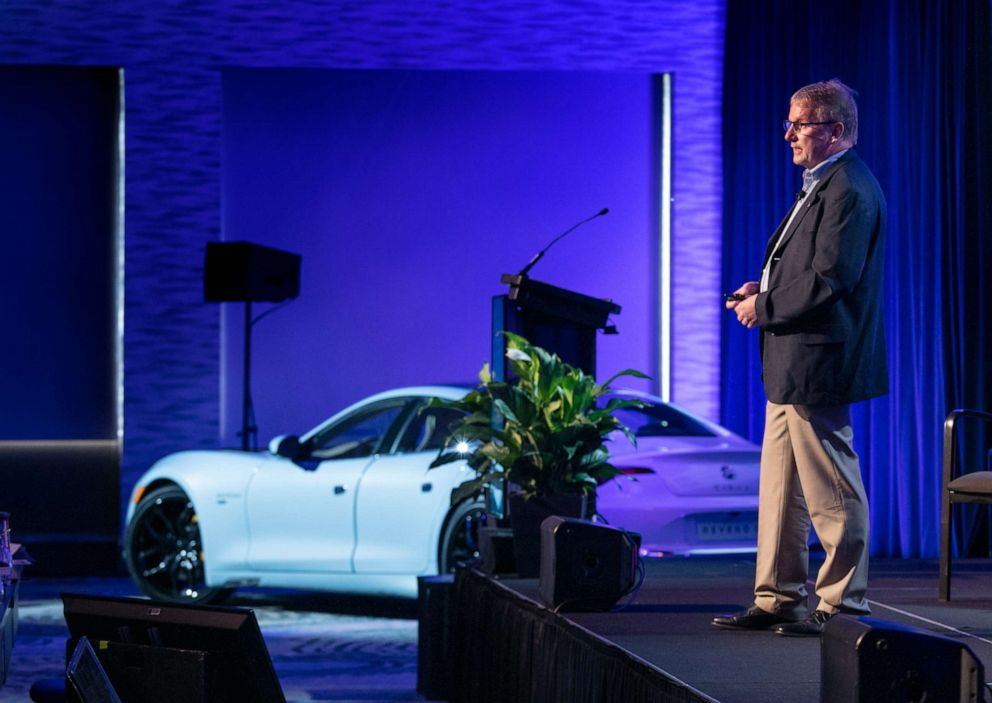 PHOTO: Bob Kruse, Karmas chief technology officer, is a 40-year industry veteran who helped launched the Chevy Volt.