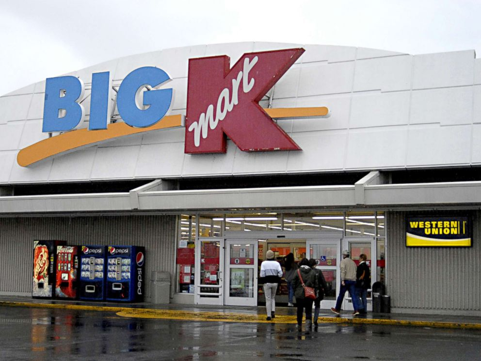 PHOTO: Shoppers enter a Big Kmart store, Dec. 28, 2011, in Lewiston Idaho.