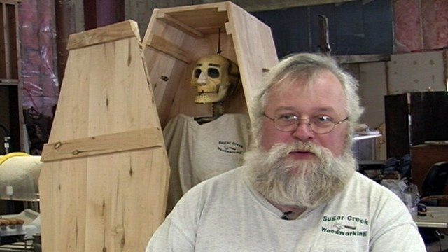 VIDEO: Patrick Kilby has ways to save people on their final resting place.