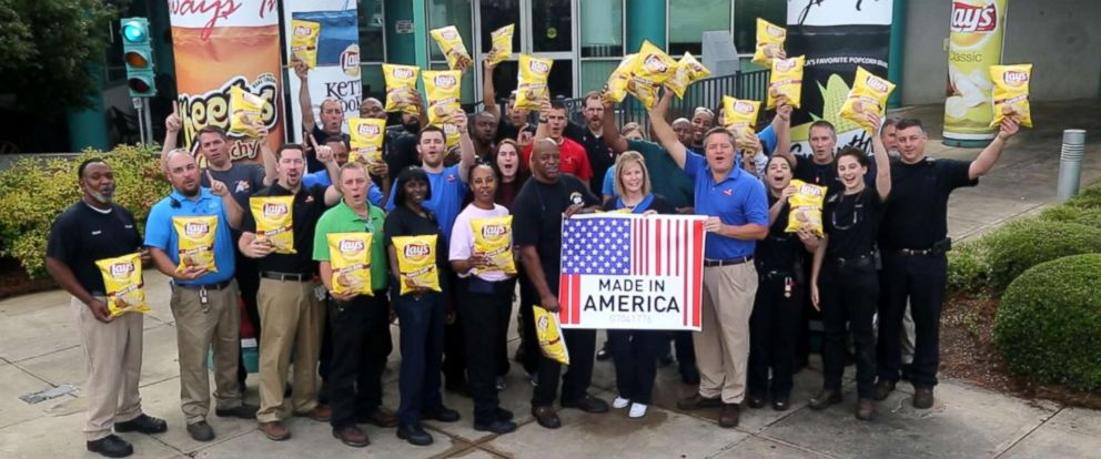 PHOTO: Farmers and workers of Frito-Lay said they felt a ton of pride, knowing the hard work they put into their products and seeing their products on store shelves.