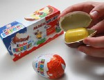PHOTO: Kinder surprise eggs