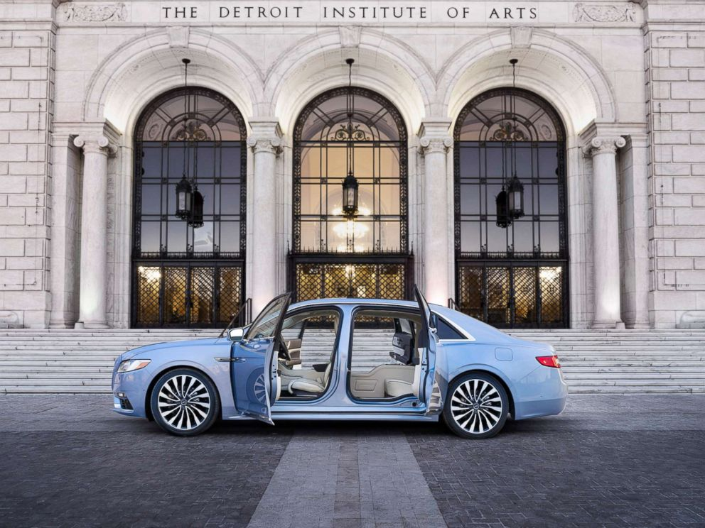 PHOTO: Lincoln has sold all 80 units of its special edition Continentals, which come with coach doors.