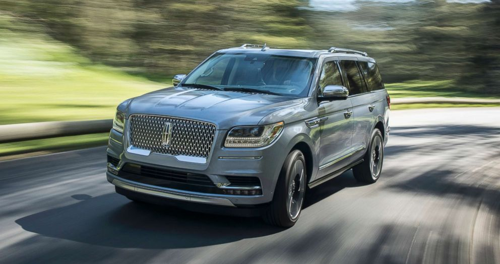 PHOTO: A majority of Lincoln Navigator owners choose the Black Label model, which starts at $96,395.