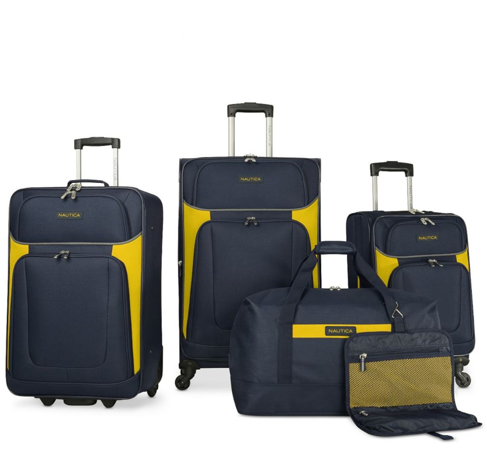 PHOTO: Nautica Oceanview 5 Piece Luggage Set, Created for Macys