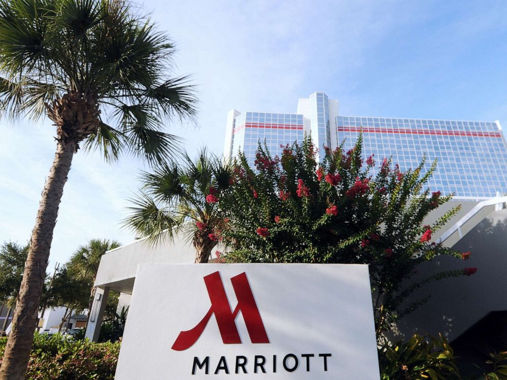 PHOTO: The Marriott hotel in downtown Orlando, Florida, July 10, 2019.