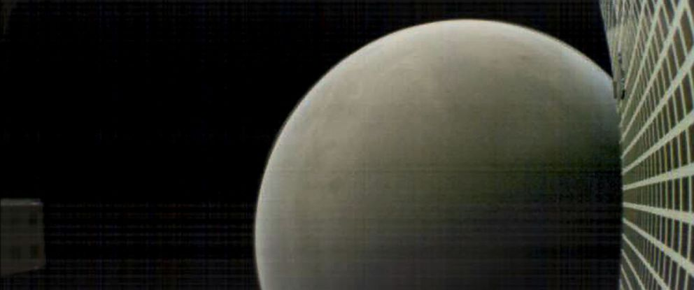 PHOTO: This NASA image obtained November 27, 2018 shows what MarCO-B, one of the experimental Mars Cube One CubeSats, captured in this image of Mars from about 4,700 miles away during its flyby of the Red Planet on Nov. 26, 2018.