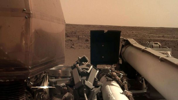 Listen to the sounds on Mars, courtesy of NASA's InSight mission