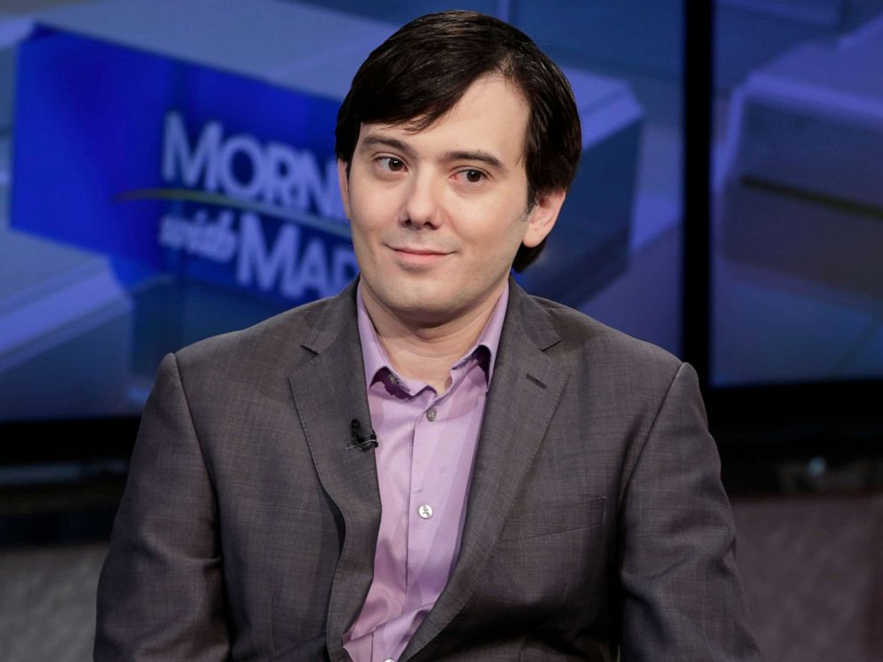 PHOTO: In this file photo, Martin Shkreli is interviewed on the Fox Business Network, in New York, Aug. 15, 2017.